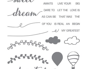 Stampin' Up! Dare to Dream Photopolymer Stamp Set