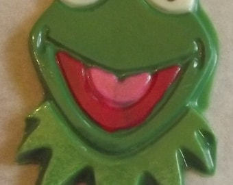 Kermit the Frog Chocolate Candy Lollipop Favors