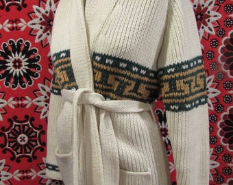 Cozy hippy sweater