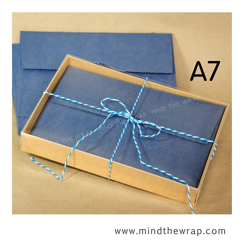 25 sets a7 kraft box with clear lid 5 38 x 1 x 7 12 inches 2 25 sets a7 kraft box with clear lid 5 38 x 1 x 7 12 inches 2 piece greeting cards presentation or gift box m4hsunfo Image collections