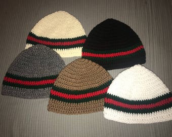 Womens Gucci Inspired Beanies