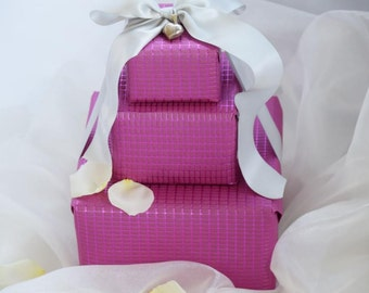 Luxury Pink Embossed Gift Wrap (Set of 2)