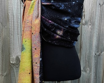 Wrap Conversion Baby Carrier Ring Sling- Intergalactic