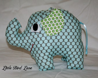Instant Dowmload PDF Pattern E the Elephant by Little Bird Lane New