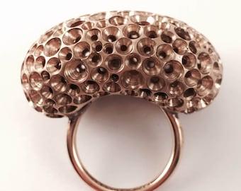 Maxi ring bubble bronz