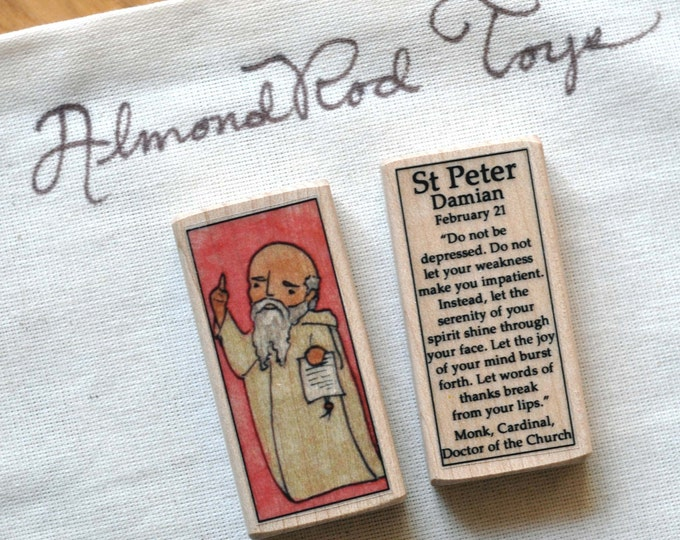 St Peter Damian Patron Saint Block