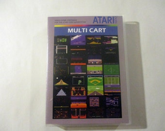 Multicart Custom Atari 5200 CASE (NO GAME)