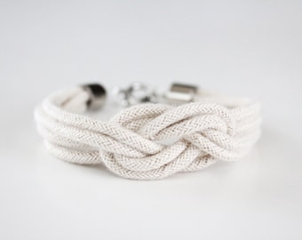 Rope Bracelet - Knot Bracelet - Be A Square Knot - The Original