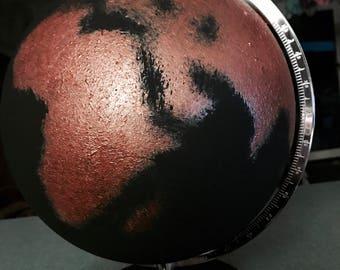 decoration globe, different colors / decorations globe