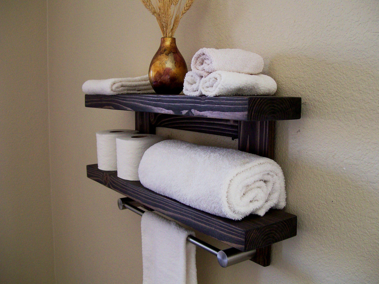 Awesome towel Bar Shelf Brushed Nickel