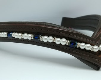 Pearl&Sapphire Glass Sparkle Browband