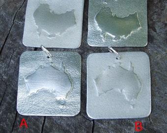 Australia Necklace, Australia Pendant, Australia Jewellery, Australiana, DownUnder, 100% Recycled Lead-free fine Pewter by BijouterieOz