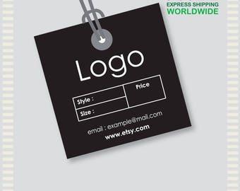 1000 Pcs Custom Hang Tags , Thank You Tag, Product thank you, Custom hang tag, Custom clothing tag, logo tag, custom clothing labels