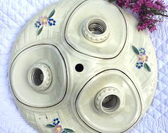 Vintage Minimalist Industrial Bare Bulb Light Sockets