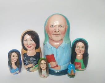 Custom Nesting dolls