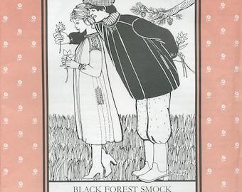 Black Forest Smock, Folkwear Pattern 148
