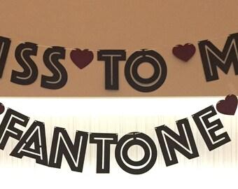 Custom made Event Banner - Bacherlorettes, Wedding Showers, Weddings, Birthdays, Baby Showers, Holiday