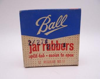 Vintage NOS Ball Jar Rubbers Pack of 12 in Original Box