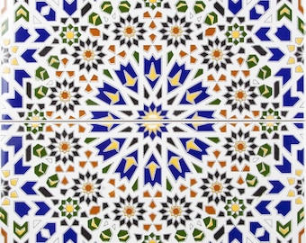 WADIH - Colorful Ceramic tiles from Morocco, decoration tiles
