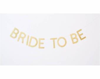 bride to be banner, bridal shower banner, bachelorette banner, bridal banner, bride to be sign, engagement, bride to be decor, bride banner
