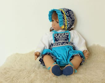 "Reborn/collectible doll clothing set ""Tonicek"""