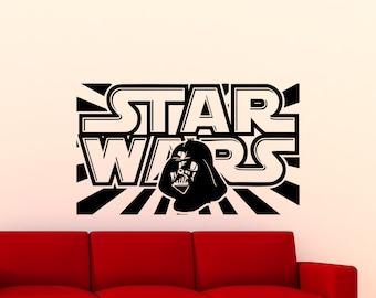 Star Wars Wall Decal Darth Vader Logo Quote Vinyl Sticker Sith Lord Poster Ink Kids Teens Boy Room Nursery Ideas Art Decor Mural 27sw