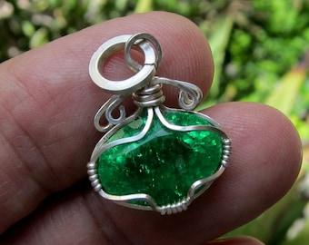 emerald pendant emerald necklace emerald jewelry