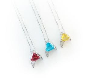 divisions Star Trek necklace scotty spock kirk pendant