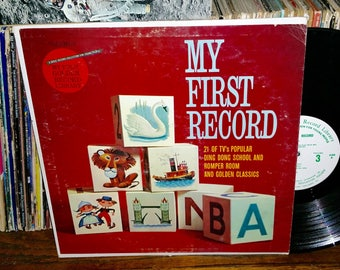 My First Record Volume 3 Vintage Vinyl Record