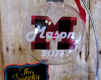 Custom Christmas Ornaments - Christmas Ornament - Personalized Ornaments  - Monogrammed ornaments