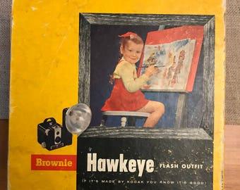 Vintage Kodak Brownie HawkEye