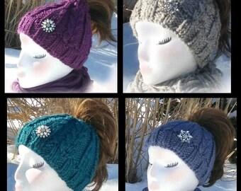 Ponytail Knit Hats