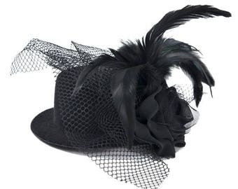 Expo Allegra Fascinator Mini Top Hat
