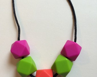Chic Simple Hexagon Necklace-HPGC