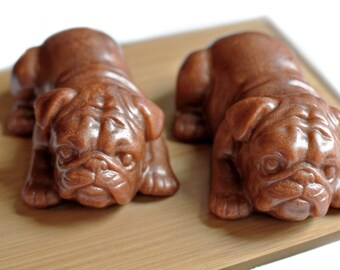 Bulldog Puppy Soap / Bull Dog Puppy Soap