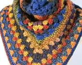 Shawl. Crochet shawl, wra...