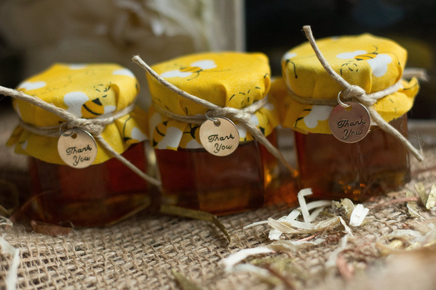 Honey Jar Favors Wedding Baby Shower Bumble