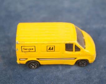 Vintage Corgi AA Service Van Matchbox Toy Car