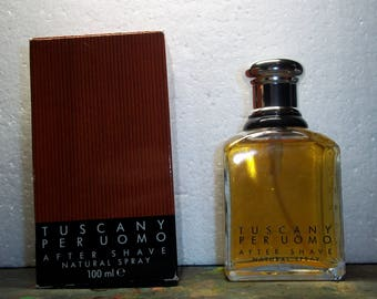 Tuscany per Uomo after shave vintage