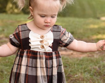 Size 5 Thanksgiving dress for babies toddler or kids