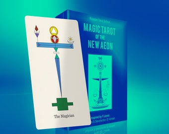 New! Magic Tarot of the New Aeon and eGuidebook in English