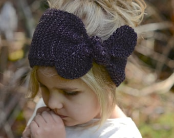 KNITTING PATTERN-The Amarina Warmer (Toddler, Child, Adult sizes)