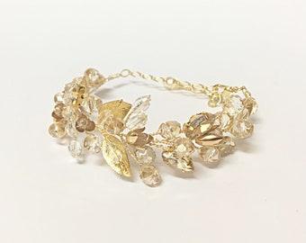 Wedding Bracelet For Bride, Wedding Jewelry For Brides Bracelet Wedding Bracelet Bridal Bracelet Gold Bridal Bracelet, Bridal Jewelry Gold