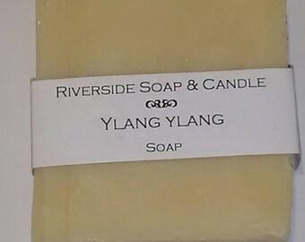Handmade Ylang-Ylang hot process soap
