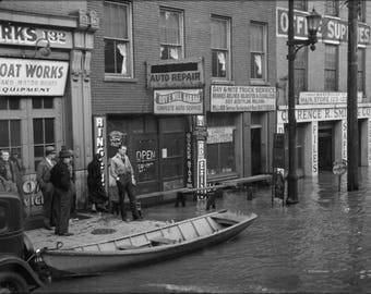 Poster, Many Sizes Available; 1936 Ohio River Flood Louisville, Kentucky