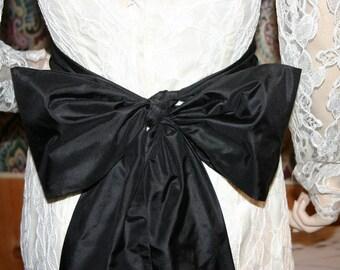 Silk Taffeta/Silk Dupioni SASH 6 X 128 inches