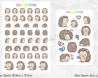 HEDGEHOG Planner Stickers (2 options)