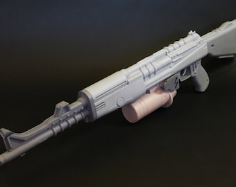 Destiny Zhalo Supercell Exotic Auto Rifle Resin Kit for Cosplayers and Collectors