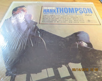 "The Best of Hank Thompson Capitol DT1878 LP 12"", Country 1963"