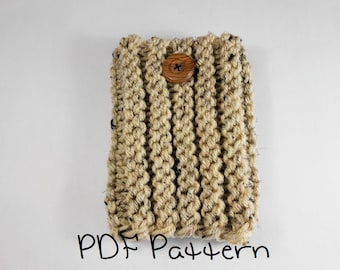 Boot Cuff Knitting Pattern Beginner Ribbed Cuff Pattern Quick Knitting